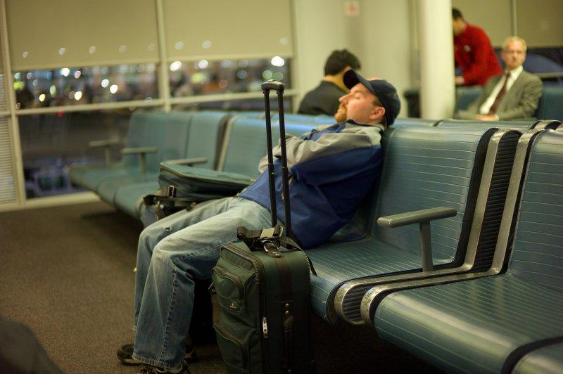 Napping at OHare