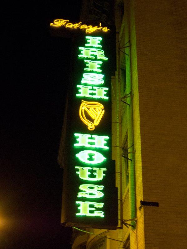 Irish House Neon