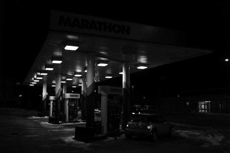 Marathon BW