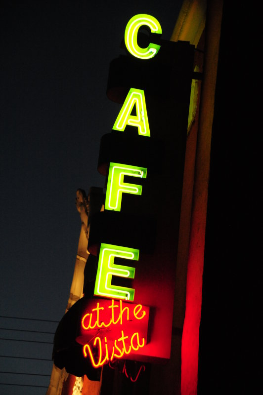 Cafe at the Vista