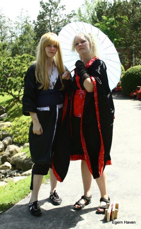 Et par nydelige Danske, Japanere.