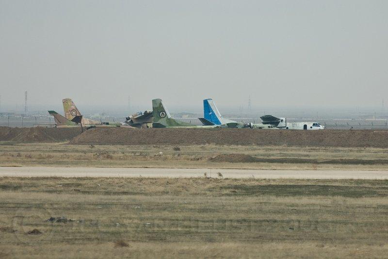 Aircraft graveyard...