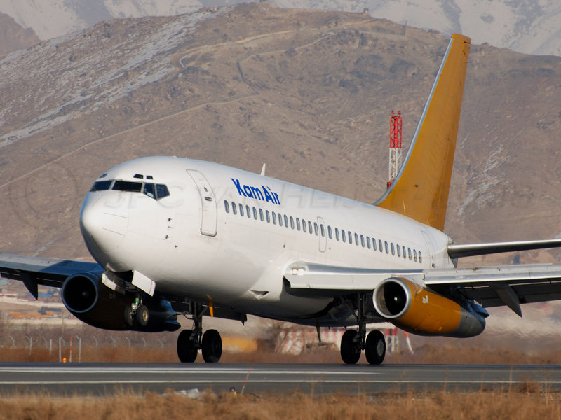 Kam Air 737-200 YA-GAE