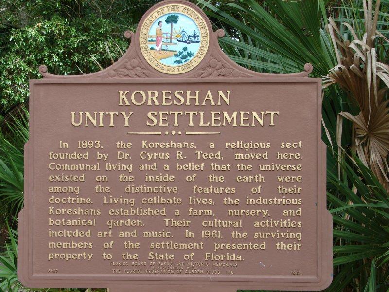 Koreshan Unity Settlement