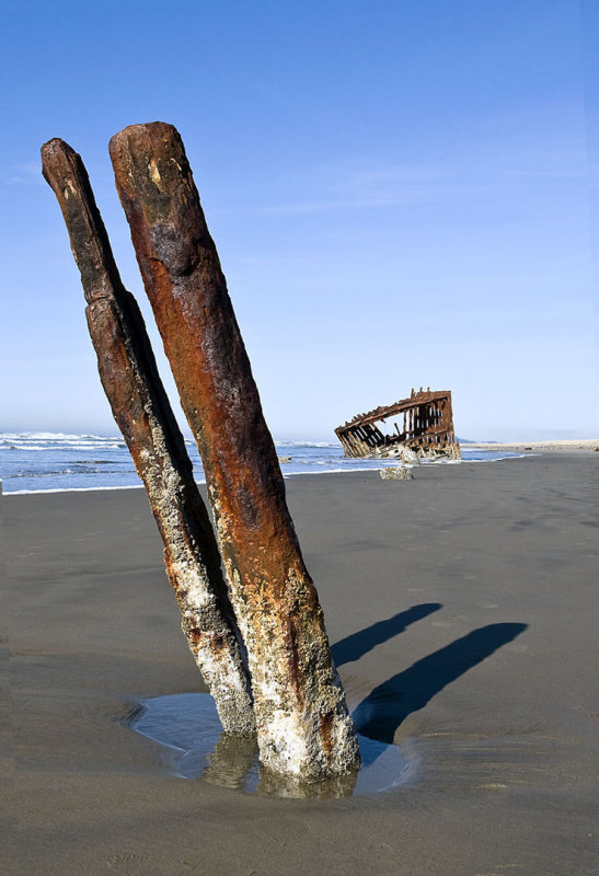 Wreck of the Peter Iredale - Fort Stevens State Park