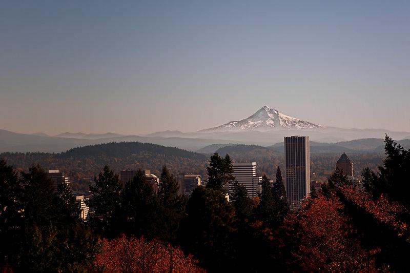 Mt Hood & Portland