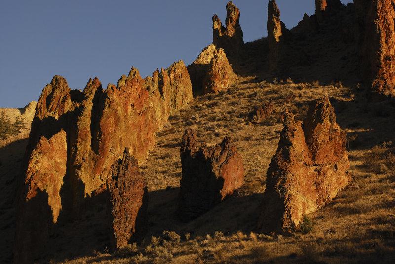 Rock Formations Lesley Gulch