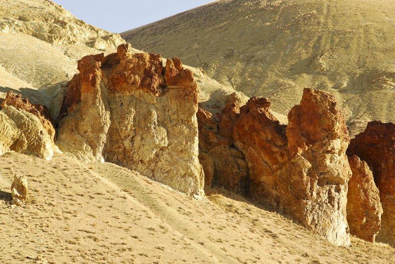 Rock formations - Lesley Gulch