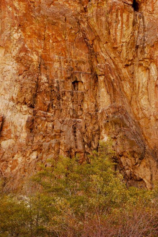 Rock Wall on Succor Creek
