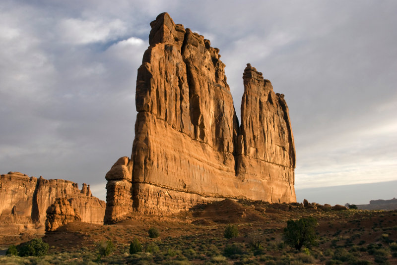 Courthouse Towers - Arches National Park