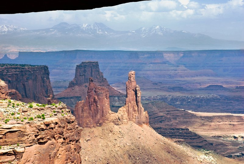 Through Mesa Arch - Canyonlands