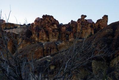 Rocks in Leslie Gulch