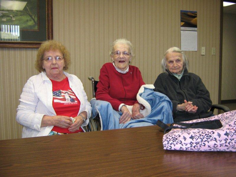 Alenor, Grandma C. & Sophie