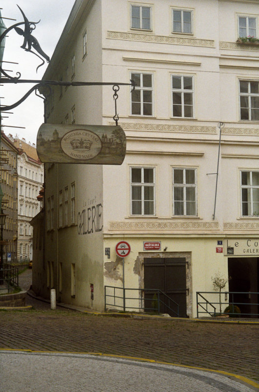 Tusler rundt i bydelen Josefov