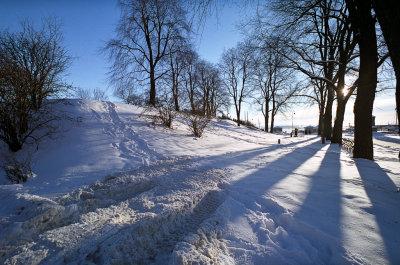 Akershus Festning, februar 2009