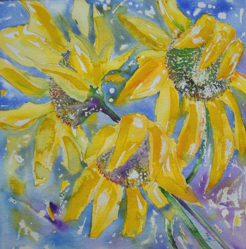 sunflowers 2, Sold £140