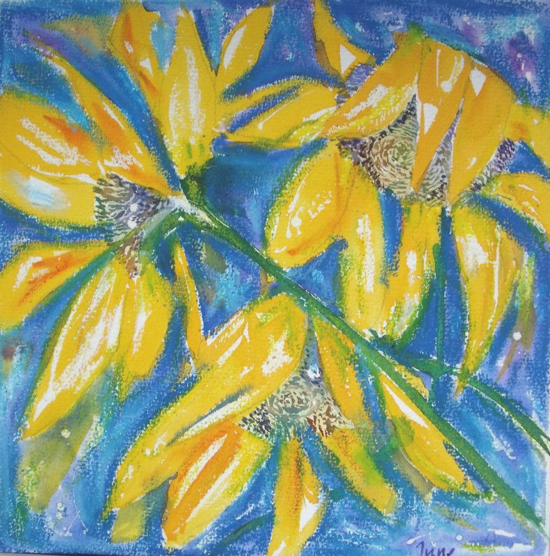 More sunflowers £150 Sold