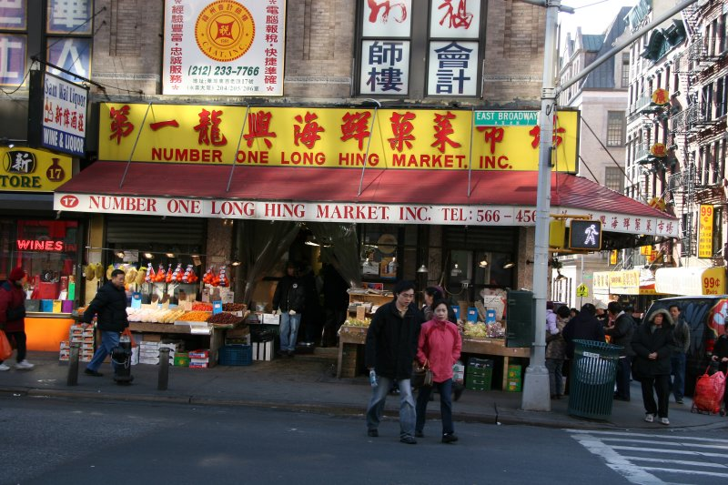 #1 Long Hing Food Market at Catherine Street