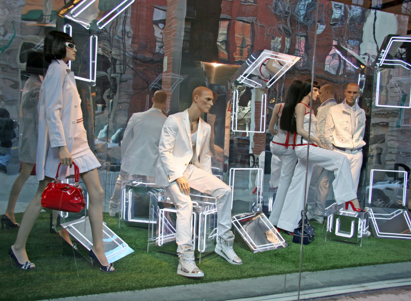 Dolce & Gabbana Window with Reflections