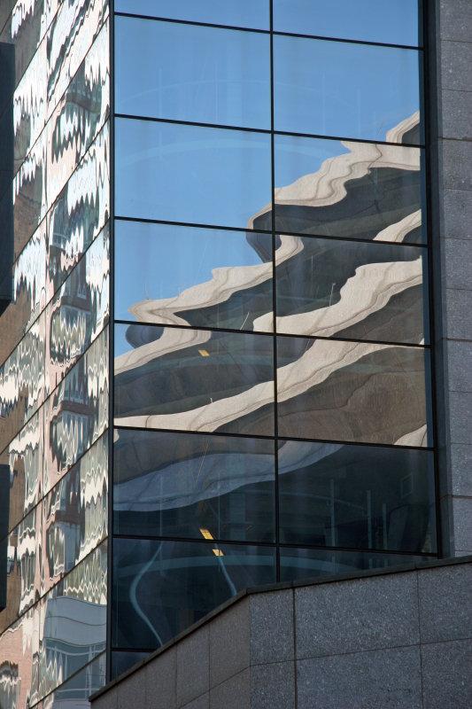 Jewish Holocaust Memorial Museum - Window Reflections