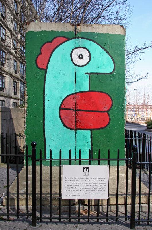 Financial Center - Piece of the East Berlin Wall