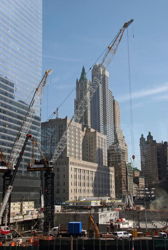 Ground Zero - View  from Winter Garden