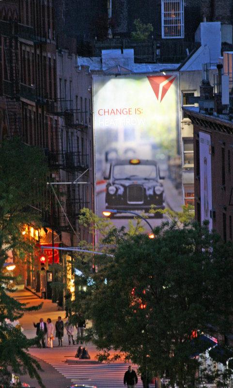 West Houston Street Billboard