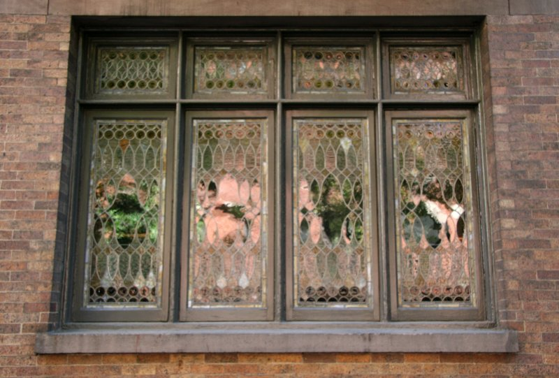 NYU Bronfman Jewish Cultural Center Windows