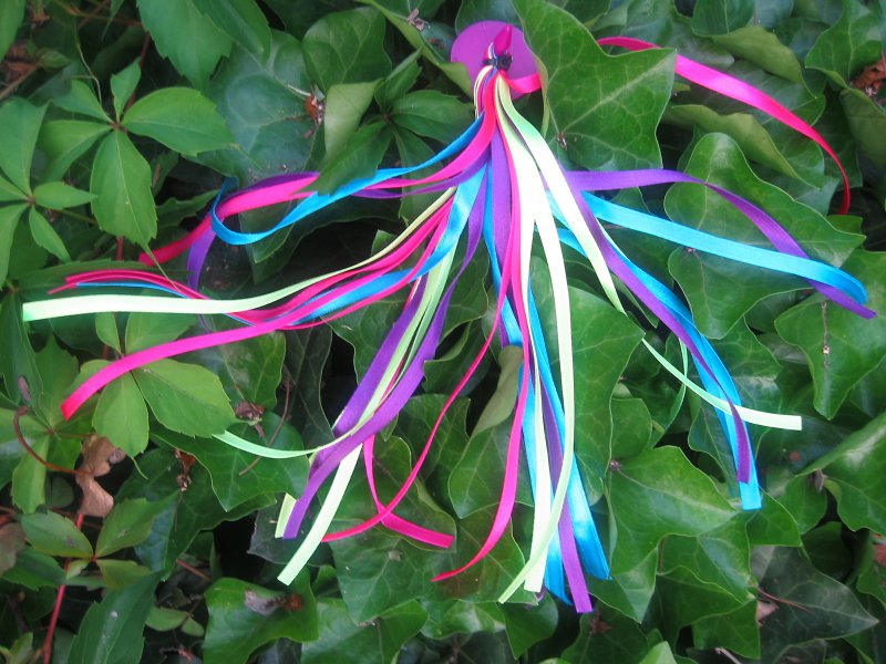 Ribbons in an Ivy Patch