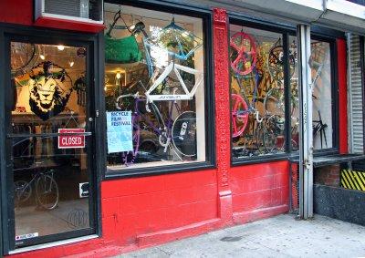 Bicycle Shop near Stanton Street
