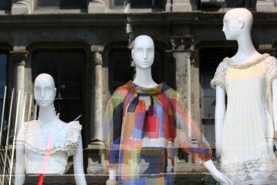 Catherine Mandrino Window with Reflection