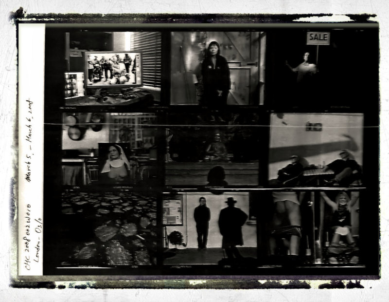 contact sheet of Chang Chien-Chi (Magnum photographer)
