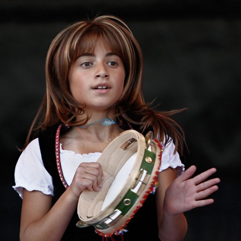 dancing girl from the Associazione Famiglie Italiane Höchst e.V.