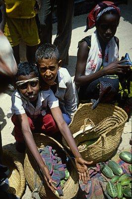 Somalia, Young sellers