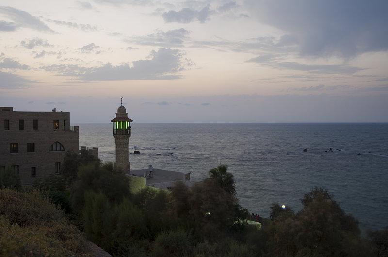 The sea Mosque in Yafo