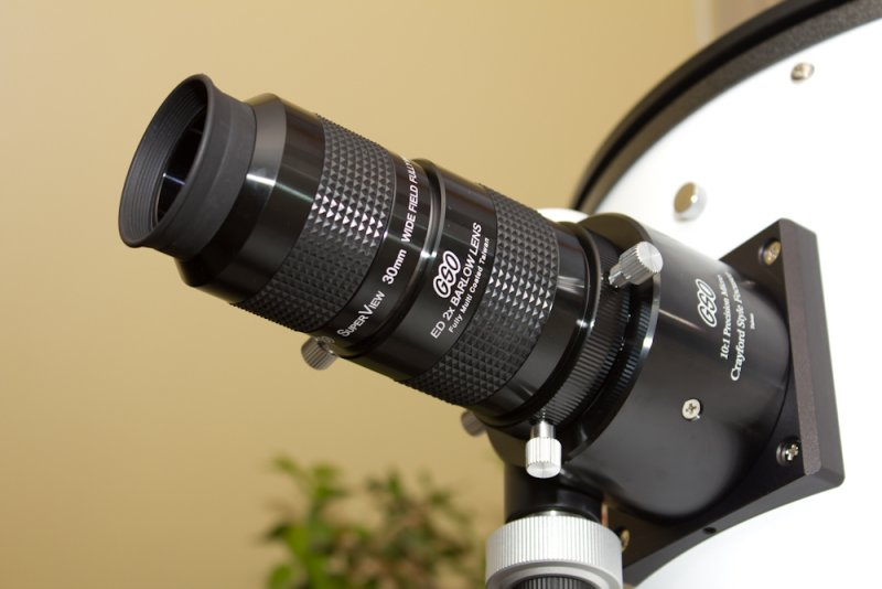 My GSO 305 (12) dobsonian telescope (with barlow and eyepiece)