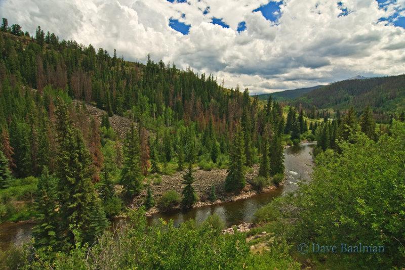 Blue River  N. of Silverthorne, CO