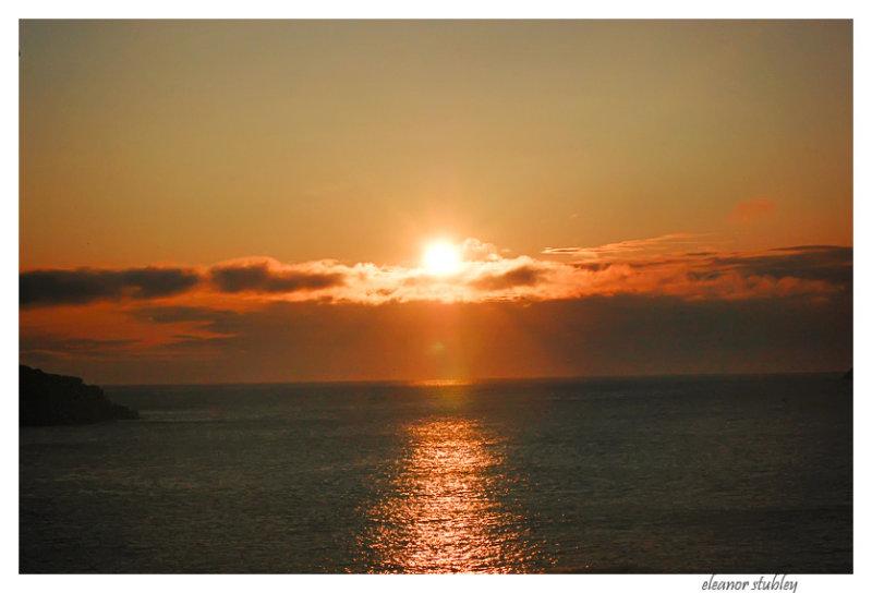 Celtic Loop Sunrise, Newfoundland