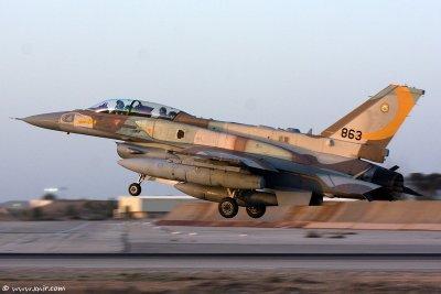 F-16I Sufa squadron in Cast Lead