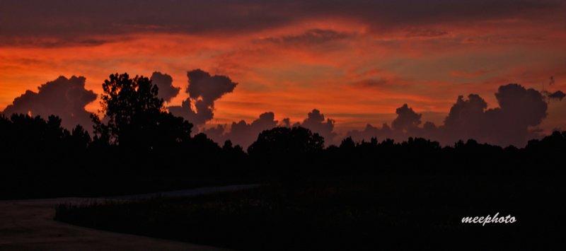 Sunset, Stormy Horizon