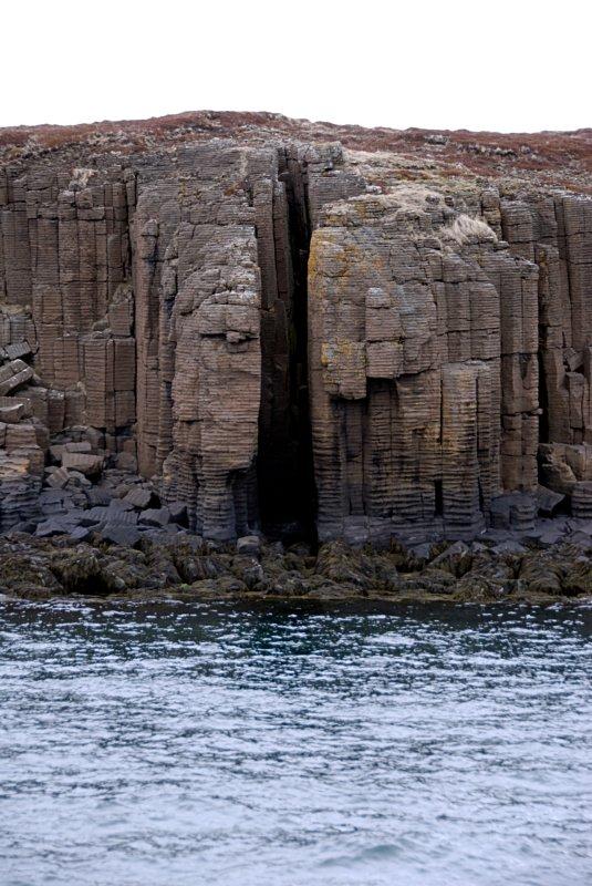 Colmunar basalt