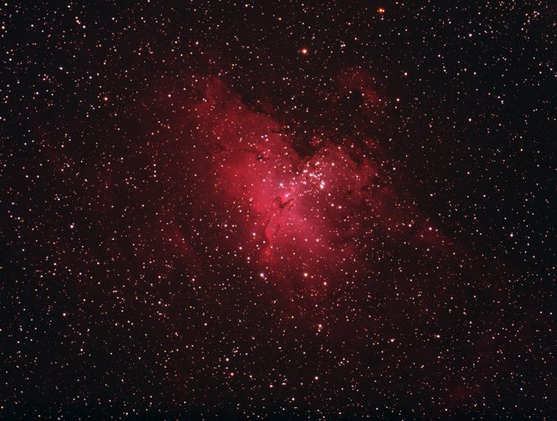 M16 The Eagle Nebula - Wide Field (IC 2177)