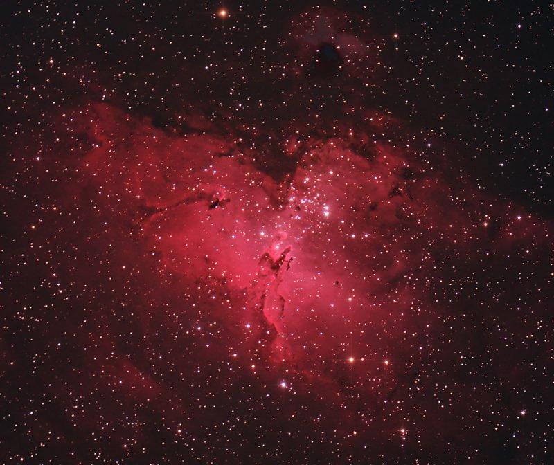 M16 The Eagle Nebula - Central Area