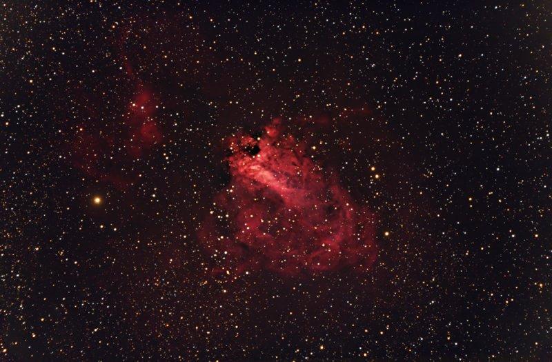 M17 The Swan Nebula - 1000pix