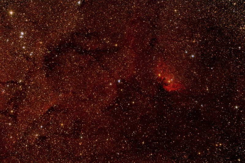 The Tulip Nebula Sh2-101, HD226868 (w/Cyg X-1) NGC 6871, B146, B147 1300 pixels