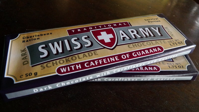 swiss army chocolate