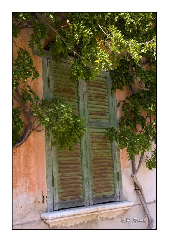 French window on the Riviera - 2701