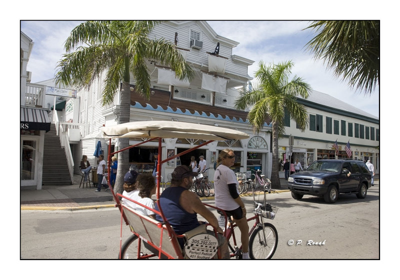 Key West - Pedicab - 3669