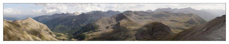 Panoramique Col de la Bonnette
