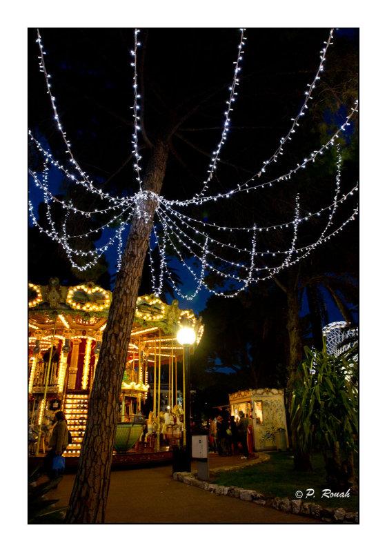 Illumination du Carrousel - Nice - 2877